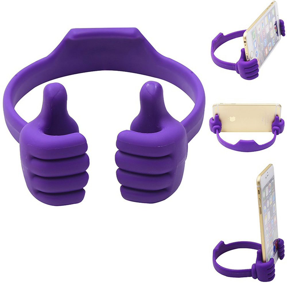 Universal Hand Phone Holder Purple