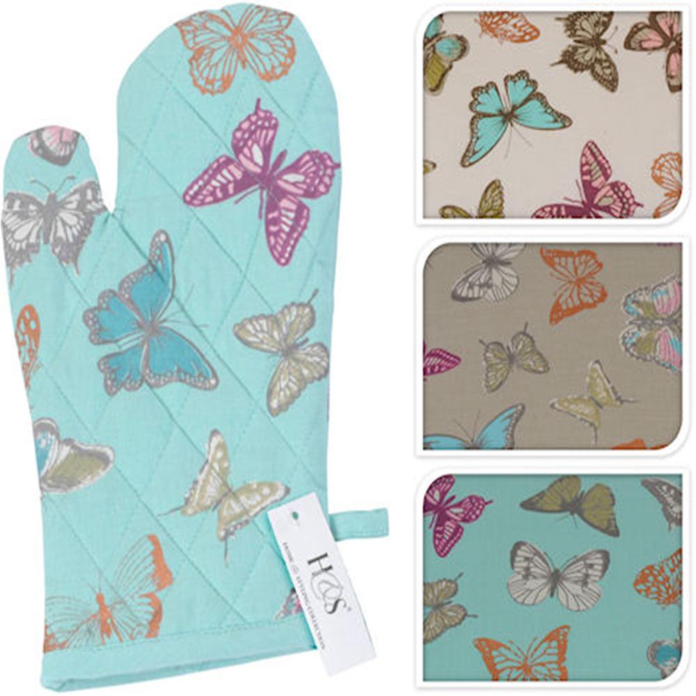 Home & Garden : Butterfly Kitchen Glove - Cream