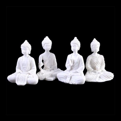 Mini Buddha's Set of Four