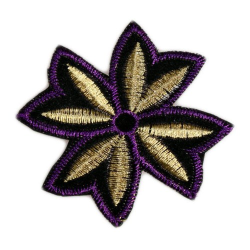 Purple & Gold Motif