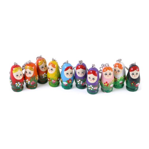 Russian Doll Keyrings (All Displayed)