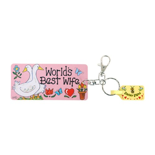 World's Best Wife Keyring
