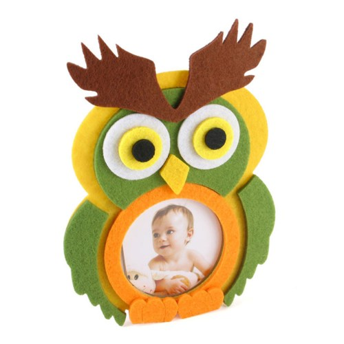Owl Felt Photo Frame