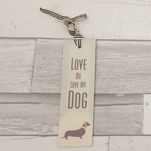 Love Me Love My Dog Bookmark