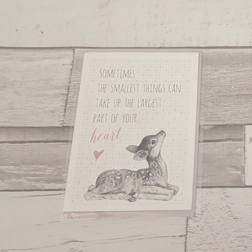 Smallest Things Card