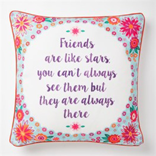 friends cushion
