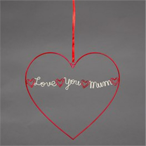 love you mum heart
